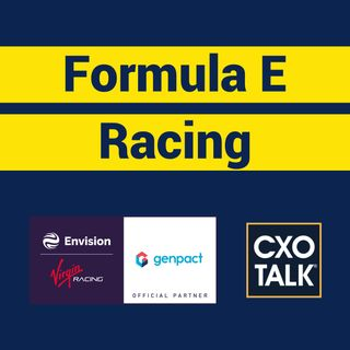 Formula E Racing: Data Analytics and AI (CxOTalk)