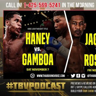 ☎️Devin Haney vs Yuriorkis Gamboa🔥 Daniel Jacobs vs Gabriel Rosado🔥 Dazn Set For Big November❗️