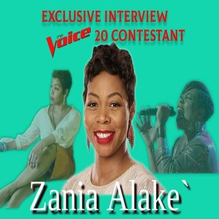 Raven Cade LIVE Exclusive: Zania Alake` from The Voice!