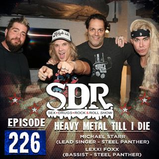 Steel Panther (Michael Starr & Lexxi Foxx) - Heavy Metal Till I Die