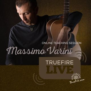 Massimo Varini - Guitar Lessons, Performance, & Interview