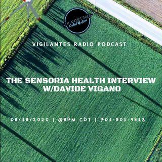 The Sensoria Health Interview w/Davide Vigano.