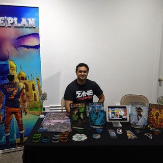 Comic Indie Con 2019 - InZane Comics