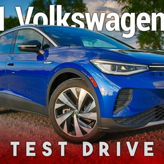 2021 Volkswagen ID.4 Test Drive - All-New Electric Crossover SUV From Volkswagen