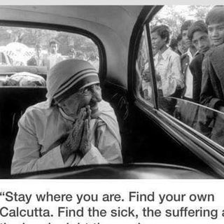 Faith In Action Mother Teresa