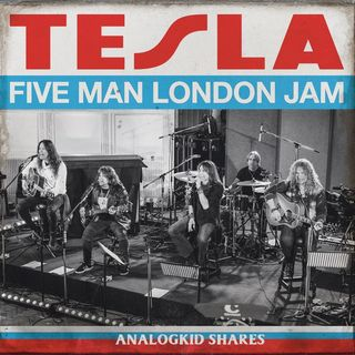 ESPECIAL TESLA FIVE MAN in LONDON 2020 #Tesla #FiveManInLondon #hardrock #glamrock #yoda #r2d2 #onward #mulan #twd #tigerking #westworld