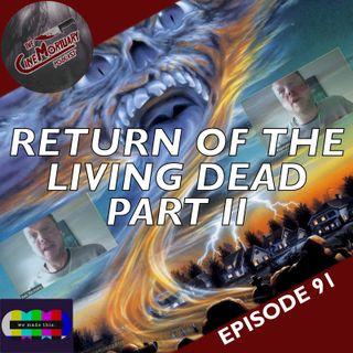 Return of the Living Dead: Part II (1988)