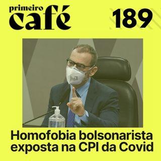#189: Senador responde ataque homofóbico na CPI   Café com Série: Round 6