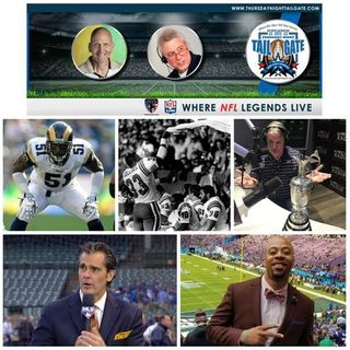 Talking Rams, Patriots, & NFL Combine with NFL Legends & Members of the Media