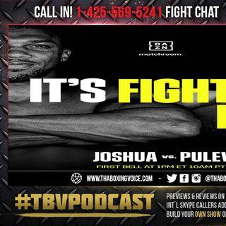 ☎️Anthony Joshua vs. Kubrat Pulev Live Fight Chat🔥For Joshua's WBA, WBO and IBF Titles❗️