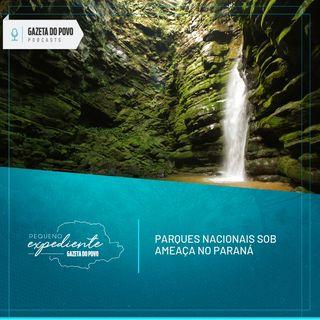 Pequeno Expediente #70: pedidos de deputados colocam em risco áreas de parques nacionais no Paraná