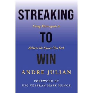 """Author/financial expert/TV commentator Andre Julian is my very special guest with his book """"Streaking to Win""""!"""