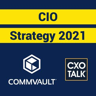 CIO Strategy 2021 Transformation Agenda with Commvault CEO Sanjay Mirchandani