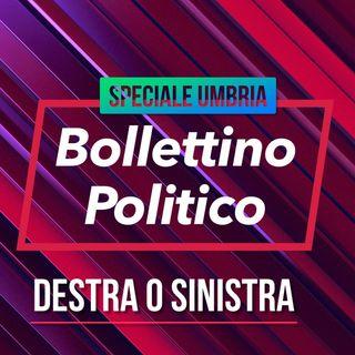 Bollettino Politico speciale Umbria il centro destra vince.