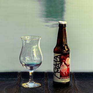 Cerveza Marea Roja Red IPA de Cervecería Aguamala