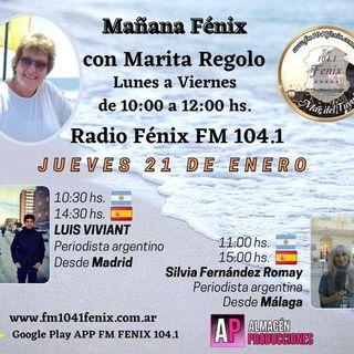 #3- Entrevista a Silvia Fernández Romay, Periodista argentina. Informe situación en España desde Málaga...