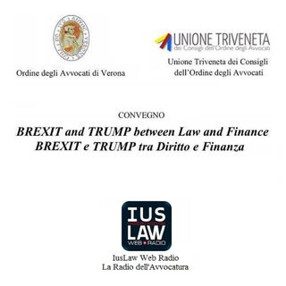 Brexit and Trump, between Law and Finance - #iVostriEventi #BookMark #Internazionalizzazione