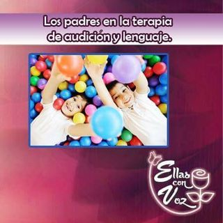 Los padres en la terapia de audición y lenguaje.