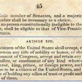 The Original 13th Amendment