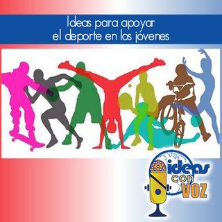 Ideas para apoyar el deporte en los jóvenes