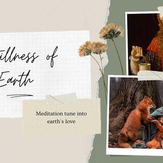 Meditation of the Earth's stillness