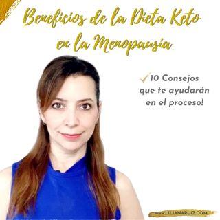 BENEFICIOS DE LA DIETA KETO EN LA PERIMENOPAUSIA Y MENOPAUSIA
