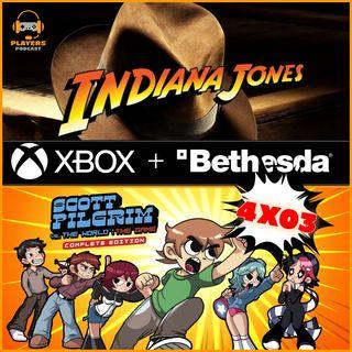 "PP T4x03.INDIANA JONES, ¿¡Exclusivo de Xbox!?, Además RPG StarWars de ""Ubi"", Juegos sin fecha y Scott Pilgrim EE"