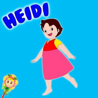 141. Heidi. Preciosa versión del cuento de Heidi con divertidos personajes
