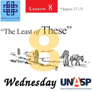 Sabbath School Aug-21 Wednesday