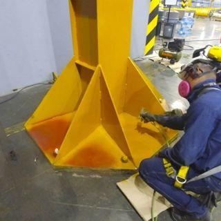 Pintura industrial en Construcciòn