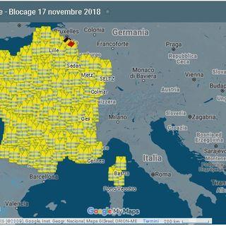 """Protesta """"Gilet gialli"""" arriva al Monte Bianco: lancio lacrimogeni dalla Polizia, un morto in Francia"""