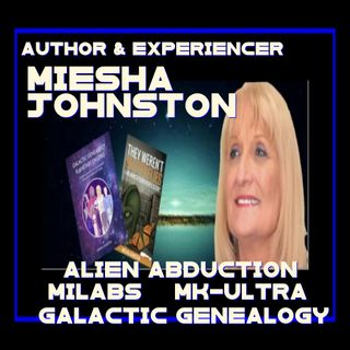 Alien Abduction MyLabs and Much More with author Miesha Johnston
