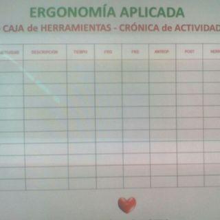 Cronograma De Actividades Ergonómico