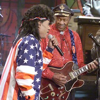 Chuck Berry and Little Richard