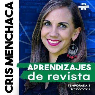 Aprendizajes de revista - Cris Menchaca