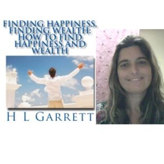 Finding Happiness - Finding Wealth, Author Heidi Garrett