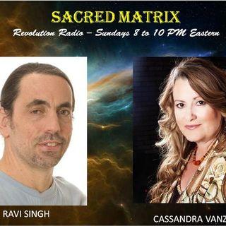 Ravi Singh & Cassandra Vanzant  ~11/04/18~Sacred Matrix ~ Janet & Sasha Lessin