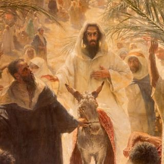 Jesus' Triumphal Entry: Find the Sacred within you during Holy Week ~ The Rev. Jan Hosea April 14, 2019