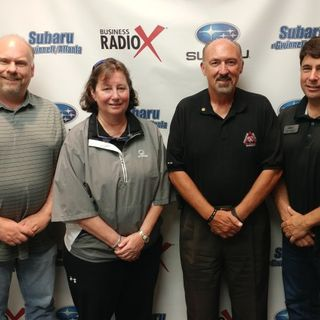 Rick Strawn with Paradigm Security Services and Laura Faught with ACG Solutions