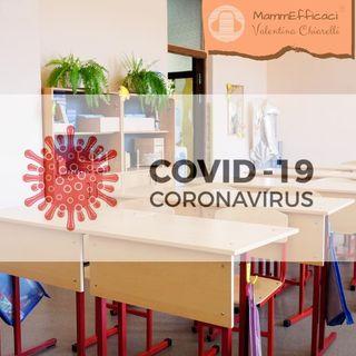 Causa Covid-19 prima elementare fatta a metà