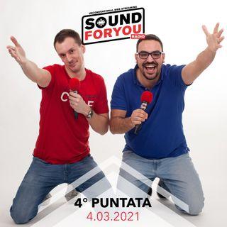 Sound For You Radio - Cinema, serie tv e cartoni animati - 4.03.2021