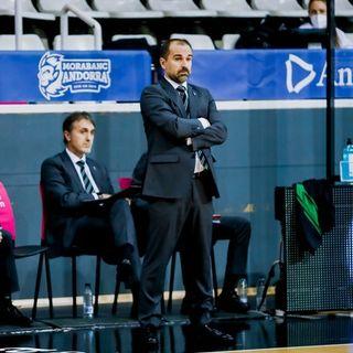"""Carles Durán: """"Iberostar Tenerife ha jugado un poquito mejor que nosotros"""""""
