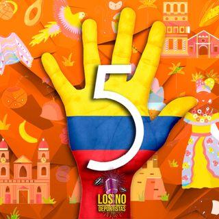"""Especial """"Parte 1 - Top 5 de deportistas Colombianos """""""