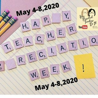 63: Teacher Appreciation Week is Coming - Ideas to Make Teachers Smile During COVID-19