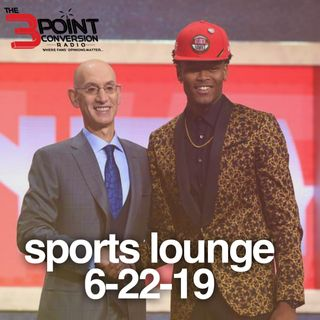 The 3 Point Conversion Sports Lounge- NBA Draft Aftermath, Is BIG3 Here To Stay, Who's Best In MLB
