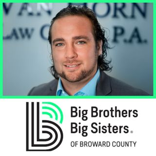 Chad Van Horn of Big Brothers Big Sisters of Broward County