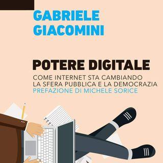 """Gabriele Giacomini """"Potere Digitale"""""""