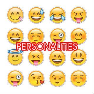 Personalities:: Part 9