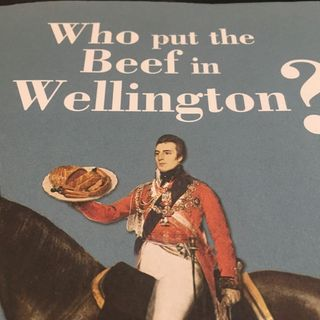 Episode 44 - #BradyEats Reading a Steak Diane recipe from the book Who put the beef in Wellington by James Winter