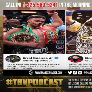 ☎️Errol Spence vs Danny Garcia🔥 Coach Anthony: Garcia's Left Hook will Have Spence 🥊Punch Drunk🍻